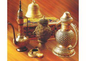 Metal ware, Art & Culture