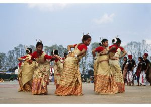 Bihu Dancers, Assam, Art & Culture