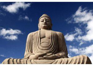 Buddha Statue at Bodhgaya, Bihar, Budhism