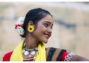 Folk Dancer from Madhya Pradesh, Life