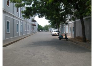 French Street, Puducherry, South India