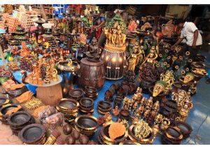 Handicrafts market, Andhra Pradesh, Life