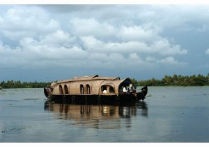 Houseboat, Kerala, South India