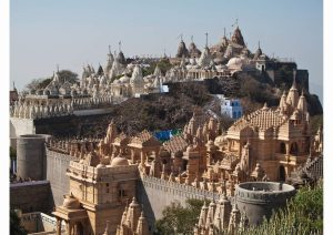 Jain Temple Complex Of Palitana, Gujarat, Western India