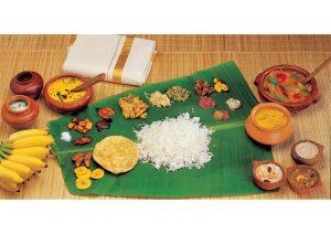 Kerala Sadiya, Cuisine