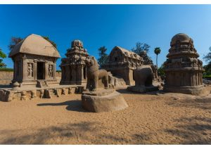Mahabalipuram, Five Rathas, Tamil Nadu, World Heritage Sites
