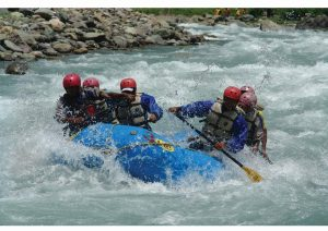 Rafting Sonamarg, Jammu and Kashmir, North India