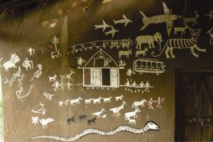 Rural House in Chattisgarh, Art & Culture