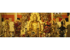 Statue of Buddha at Daijokyo Buddhist Temple, Bodhgaya, Bihar, Budhism