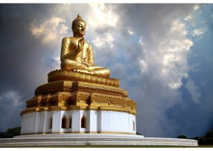 Thai Monastry Sravasti, Uttar Pradesh, Budhism