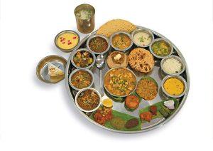Thali Rajasthan, Cuisine