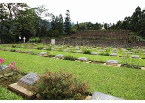 War Cemetery, Kohima, Nagaland, Eastern and North Eastern India