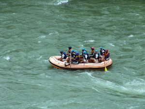 White water river Rafting, Kullu, Himachal Pradesh, North India